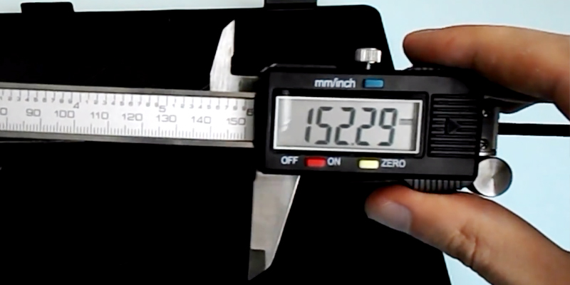 FIT Digital Caliper Штангенциркуль в использовании