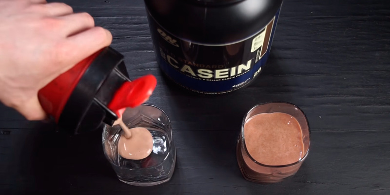 Optimum Nutrition Gold Standard Casein применение