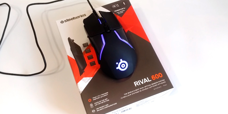 Обзор SteelSeries Rival 600 Мышь