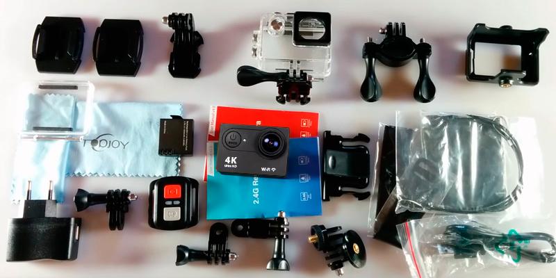 Eken H9 Ultra HD Экшн Камера в использовании