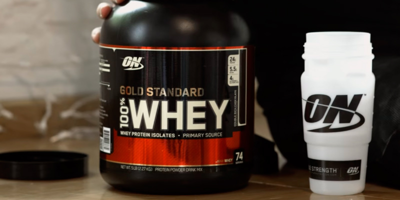 Optimum Nutrition Gold Standard 100% Whey в использовании