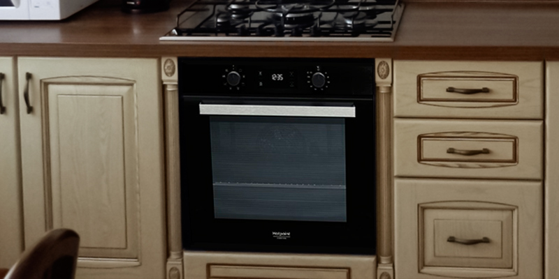 Hotpoint Ariston FA3 540 H BL HA в использовании