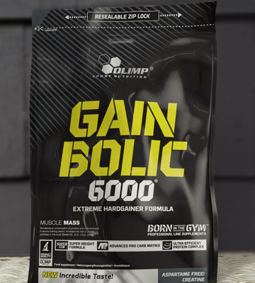 Обзор Olimp Sport Nutrition Gain Bolic 6000