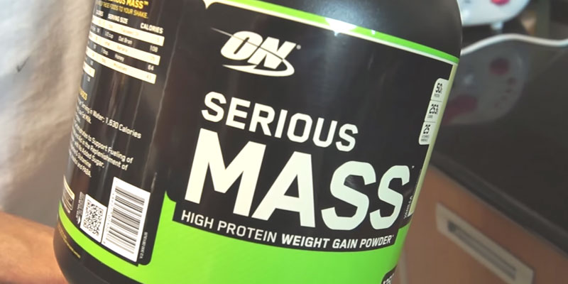 Обзор Optimum Nutrition Serious Маss