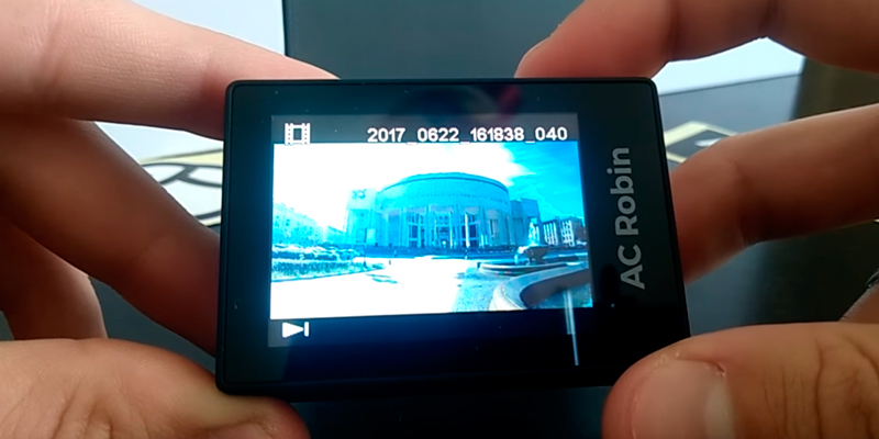 AC-Robin ZED2 Экшн Камера в использовании