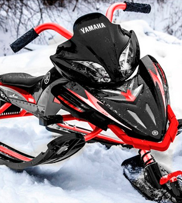 Обзор Yamaha Apex SNOW BIKE Titanium
