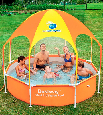 Обзор Bestway Splash-in-Shade Play (56432/56193) Бассейн